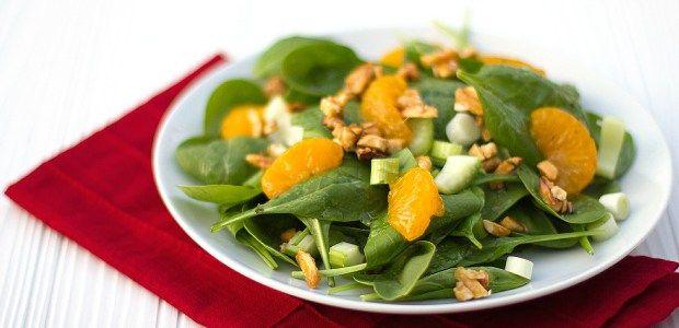 REFRESHING MANDARIN SALAD WITH KISSAN ALMOND OIL DRESSING Kissan International Salad Oil Mandarin Quick Vegetarian Almond Oil