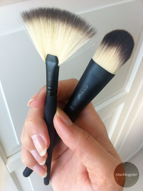 Etos make-up brushes