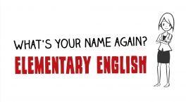 Английский для начинающих - Как вас зовут