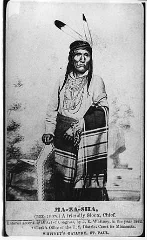 MAZA SHA aka RED IRON , 1862