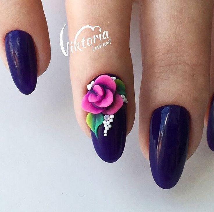 Какой цвет толи фиолетовый,толи синий..и мое любимое сочетание оттенков в Лепке