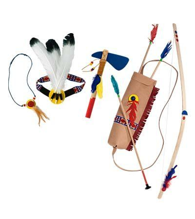 Amazon.com: Pretend Play Sturdy Wooden Bow with 3 Arrows: Toys & Games