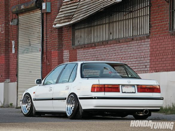 Check out Ricardo Juarez's H22-swapped 1991 Honda Accord EX, a car that has been carefully cared for and maintained like no other. – นครินทร์ ศรีจันทร์ (Nakarin Srichan)