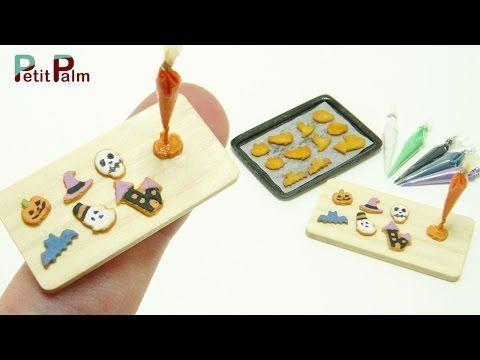 Miniature Halloween Cookies Tutorial