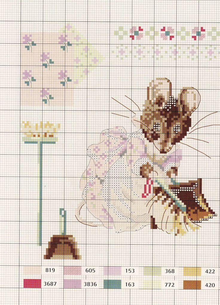 Милые сердцу штучки: Вышивка крестом: Le monde de Beatrix Potter от Veronique Enginger (схемы)