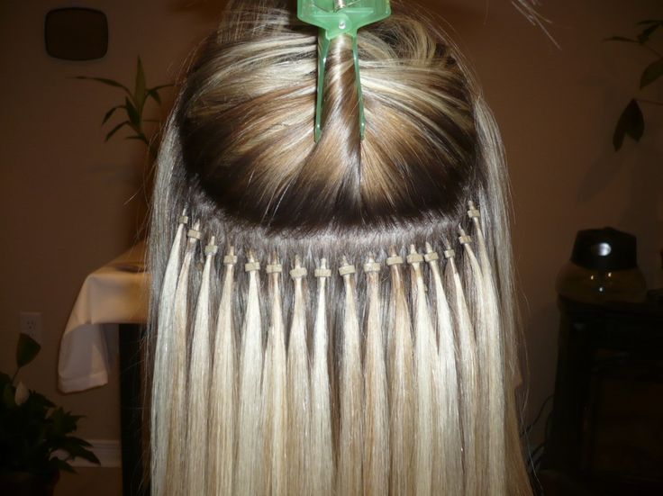 Micro Link Hair Extensions-13