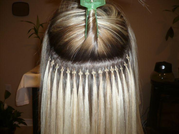 Micro Bead Hair Extensions #hairextensions #virginhair #humanhair #remyhair http://www.sishair.com/