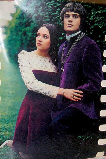 """Seventeen 1968 - Olivia Hussey and Leonard Whiting from the 1968 Zefferelli version of """"Romeo and Juliet"""" model mod fashions inspired by the movie. OMG! I loved this movie--gave me my love of Shakespeare!"""