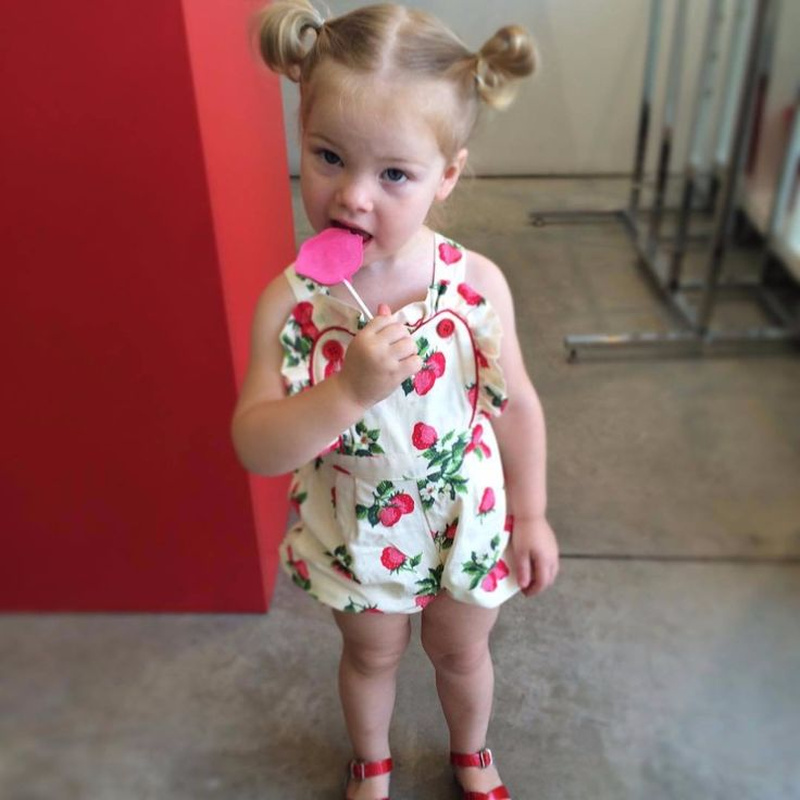 >> Click to Buy << Newborn baby Romper toddler girls lovely clothes ins hot design Strawberry printing cotton jumpsuit infant girls costume #Affiliate