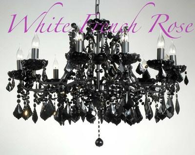 90 best Chandaleirs images on Pinterest | Black chandelier ...