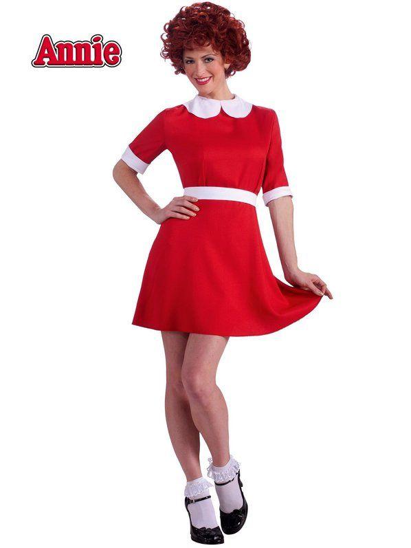 Halloween Annie Costume Adult
