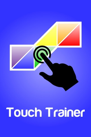 Touch Trainer ($4.99) Simple cause and effect app designed for an individual diagnosed with an autism spectrum disorder, down syndrome, or other special need, or a young child just learning about touch screen technology. Plays music & shows a simple animation whenever a button is tapped. Button gets progressively smaller as the app moves through the levels to teach individuals how to use a touch screen.