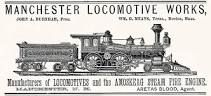 Manchester Locomotive Works.  1855-1901. In 1901, Manchester and 7 other locomotive manufacturing firms merged to form American Locomotive Company (ALCO). Locomotive production ceased in 1913.