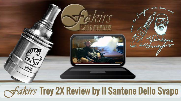 Dear @ilsantonedellosvapo was published review of Fakirs Troy 2X on YouTube at February 27, 2015. Thanks @MatteoGallegati #ilsantonedellosvapo #MeetTheFakirs #ecig #FakirsTroy2X #Troy2X #DatTroy2XDoe #ecigreview #ecigreviews #modreview #vape #vapeon #vapelyfe #vapefam #vapearazzi #calivapers #vapestagram #vaporizer #vapeporn #vaporlife #vapelife #vapelove #clouds #cloudchaser #vapefamous #vapershouts #vapetricks #authentic #notaclone #VapeCourtesy #vapecommunity