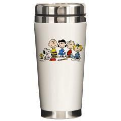 Peanuts Gang Ceramic Travel Mug > Peanuts Gang > Snoopy Store