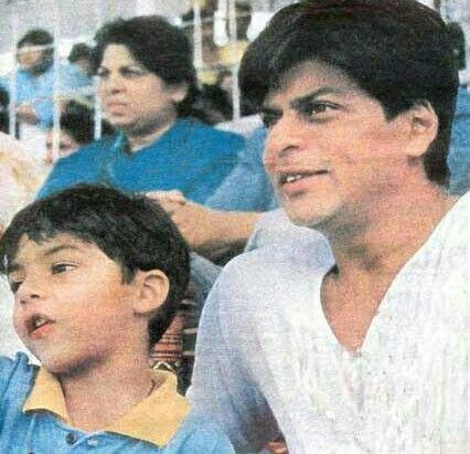 Aryan Khan and Shahrukh Khan