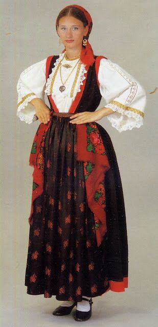 Traditional Costume | Otok Murter Island, Croatia