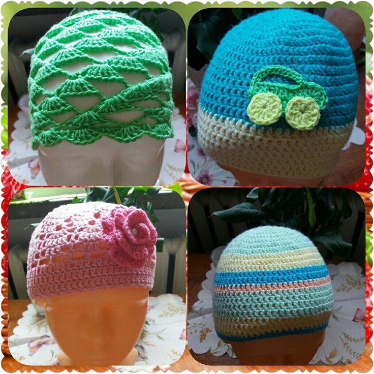 Crochet hats😉