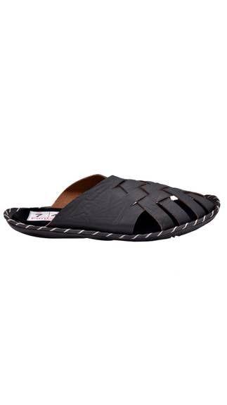 Fentacia Men Black Color Sandals