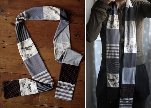 """Making a #scarf from #tshirts - From """"Wat maakt Suzette nu"""""""