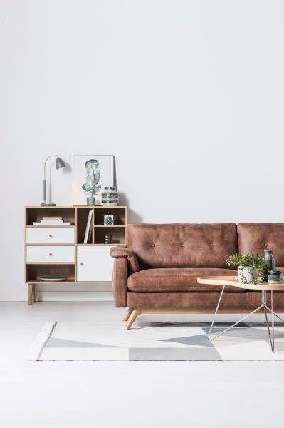 Epok soffa/soffa - i läder Tribe - Svenska Hem