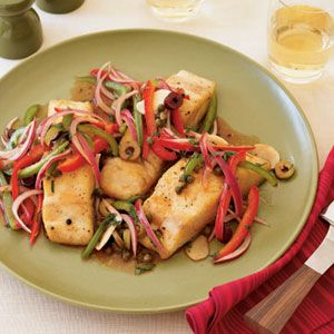 Our Best Recipes for Grilled Fish  | Grilled Mahi-Mahi with Escabeche Sauce | MyRecipes.com