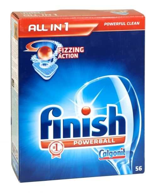 Finish powerball all in one dishwasher tablets 56 pack original