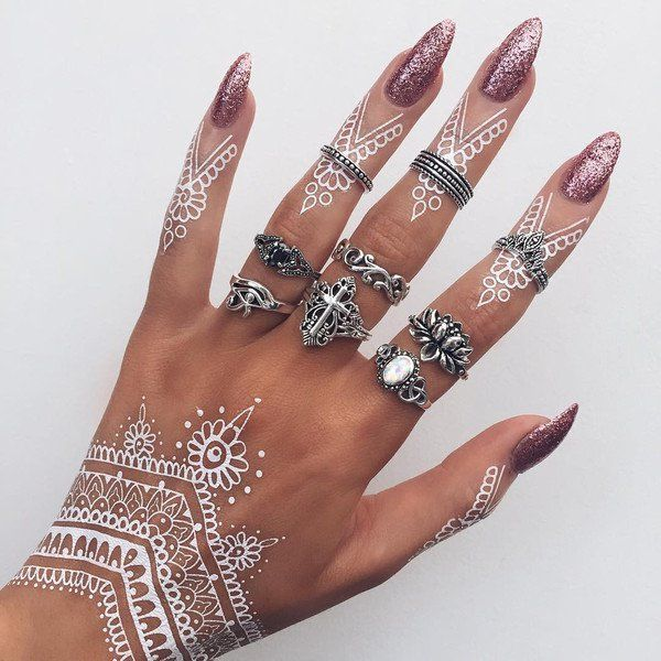 Henna Tattoo Colors: 31 Best Brown Red Henna Tattoos Images On Pinterest