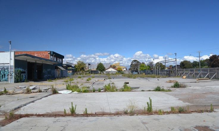 Car park of the old Bunnings store, Nth Coburg 2013
