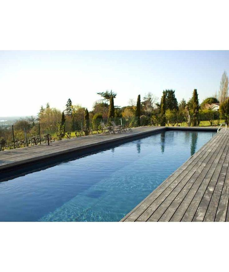 1000 id es propos de piscine couloir de nage sur. Black Bedroom Furniture Sets. Home Design Ideas
