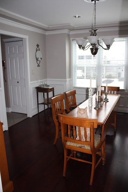 Living And Dining Room Grey
