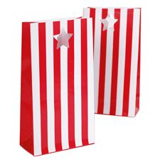 Candy Cane Party Bags (Set of 12)