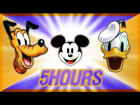 Donald Duck, Mickey Mouse, Pluto, Goofy Cartoons : 5 HOURS NON-STOP! - AntonPictures.com FREE Movies & TV Series
