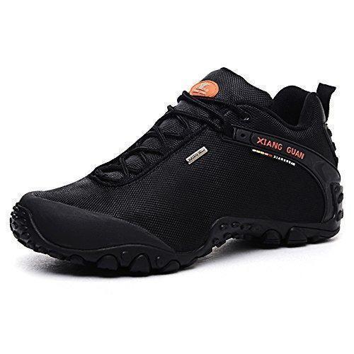 Oferta: 64.99€ Dto: -50%. Comprar Ofertas de XIANG GUAN Zapatos de deporte y aire libre resistente al agua para montaña zapatillas deportivas para hombre 81283 negro 46 barato. ¡Mira las ofertas!