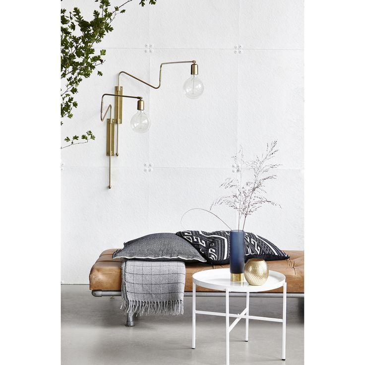 Swing vägglampa från House Doctor. En lampa som både är tilltalande i industriell design men också h...