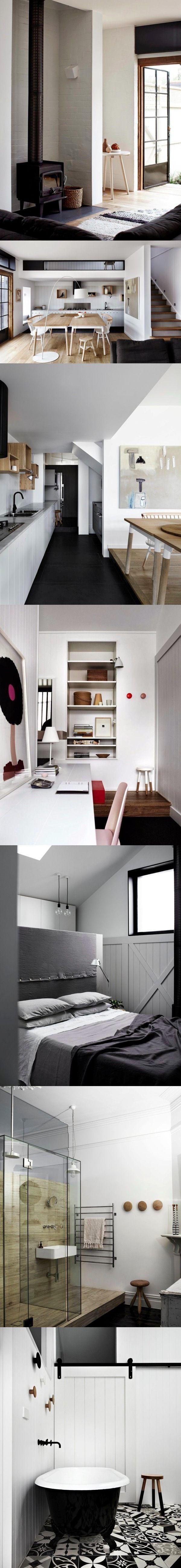 Relajante casa escandinava / http://studioarrc.com