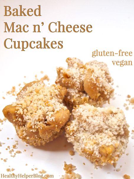 Baked Mac n' Cheese Cupcakes