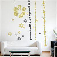 X0103AJV5 XXL Tumbling Blooms Wall Decal