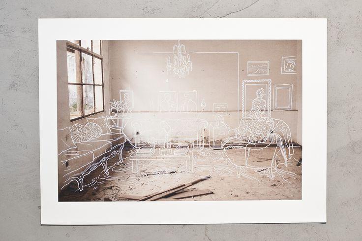 [Mar Hernández] Livelli, memory of the empty spaces, 2015 - La ricerca di Hernández parte fotografando luoghi abbandonati e si completa sovrapponendo su di essi strati di una memoria alternativa. Un lavoro che parla di recupero dell'identità, in cui gli spazi diventano testimoni delle trasformazioni, lasciando dentro di sé una traccia di ciò che è stato.