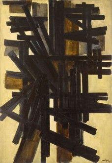 Peinture 116 x 81 cm, 3 juin 1951 Pierre Soulages