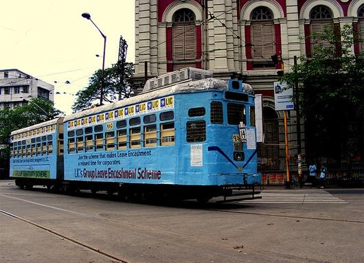 #kolkata tram / #India