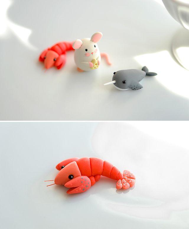 polymer clay idea