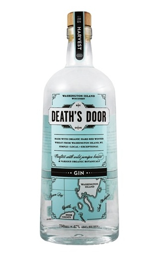 Death's Door Gin - 47%  Middleton, Wisconsin, USA  deathsdoorspirits.com