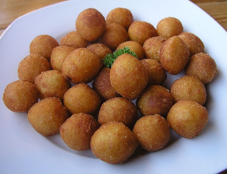 Foods I Miss from the Czech Republic #1: Krokety. A fried ball of soft, potatoey dough. You could get fries with meals also, but these were a popular alternative.