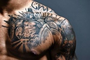 Мужские тату на плече — красивые фото | ТриТатушки