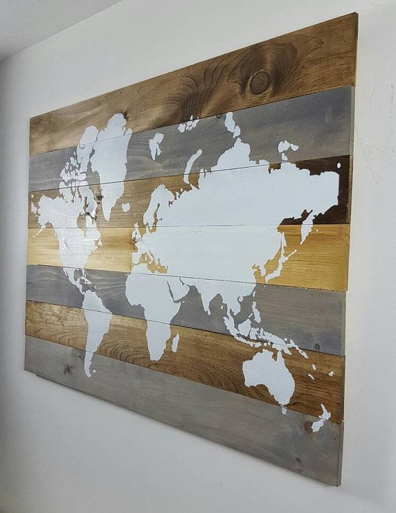 17 best large wall art world map canvas print images on pinterest large wall art large walls. Black Bedroom Furniture Sets. Home Design Ideas