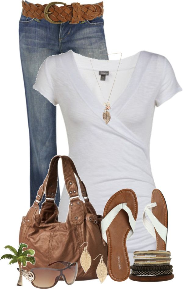 casual spring... #women's #fashion #jeans