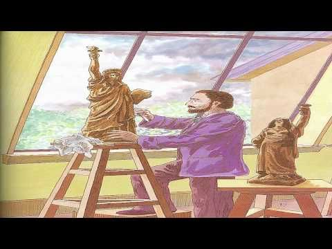 """THE STORY OF THE STATUE OF LIBERTY: for Five in a Row Volume 1 """"Lentil"""" study of monuments"""