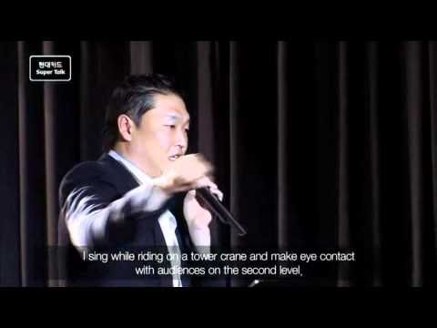 [2011] Super Talk 02 - Psy : Unstoppable Challenges