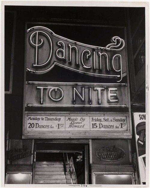Dancing Tonight...